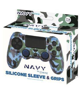 silicone-sleeve-grips-camo-navy-fr-tec