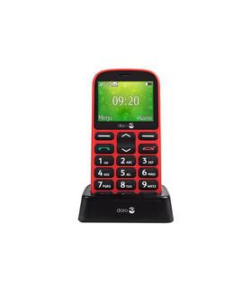 telefono-movil-doro-1361-rojo