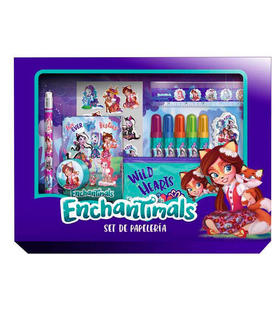 set-papeleria-enchantimals-20pzs