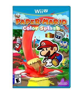 Paper Mario Color Splash Wiiu