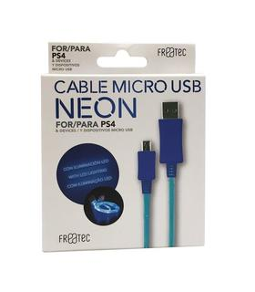 cable-micro-usb-neon-freatec-ps4