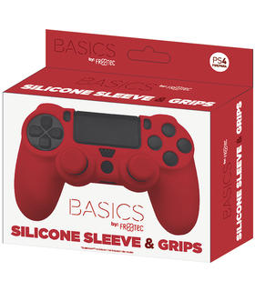 silicone-sleeve-grips-rojo-freetec