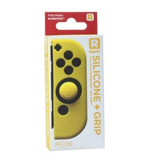 silicone-grips-joy-con-derecho-amarillo-freatec