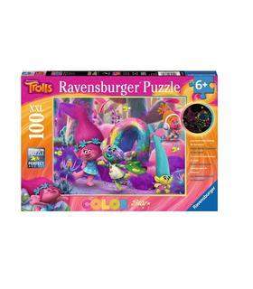 puzzle-xxl-trolls-pelo-brillante-100pz