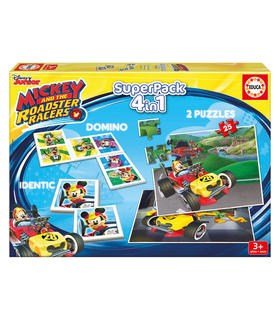 superpack-mickey-and-the-roadster-racers-disney-4-en-1