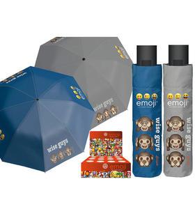 paraguas-automatico-plegable-antiviento-emoji-wise-guys-54cm